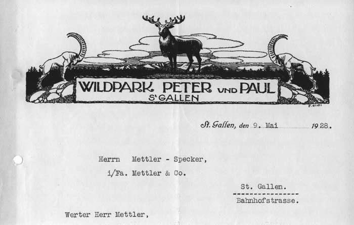 Die zum Teil über 125 Jahre alten Dokumente der Wildparks Geschichte werden im Archiv der Ortsbürgergemeinde integriert.